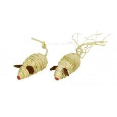 Mačja igrača MICE NATURE - iz naravnih materialov