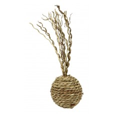 Mačja igrača BALL NATURE - iz morske trave