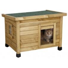 Mačja hišica RUSTICA