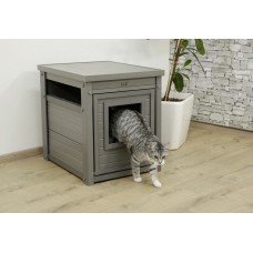 Mačja hišica EKO KITTY lesena