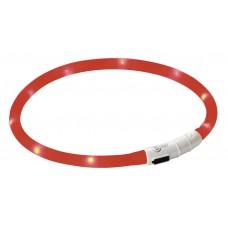 Svetleča ovratnica za psa LED