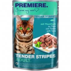 Mačja hrana Premiere Cat Tender Stripes tuna, 85g