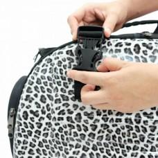 Zložljiva torba za pse ali mačke LEOPARD