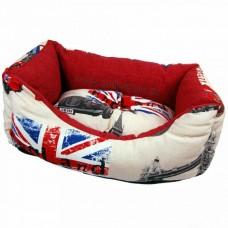 Pasja postelja LONDON ENGLAND, za srednje velike pse