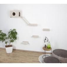 Mačja plezalna stena MONT BLANC, 6 delna s hiško