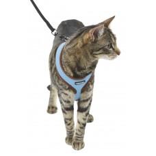 Mačja oprsnica ACTIV, modra