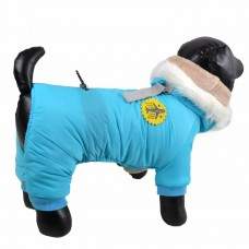 Pasji topel plašček FLY BLUE za majhne kužke